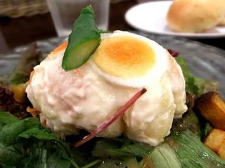 夢厨房 堺タカシマヤ店 - ポテトゴロゴロの和風サラダ  アップ