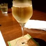 串揚げ 和や - スパークリングワイン♪