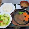 珈水亭 - 料理写真:ハンバーグステーキランチ(飲み物付き1,320円)