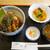割烹一声 - 料理写真:うな丼 天ぷら付き ¥1,950(税別)