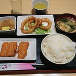 丸惣 - お昼ごはん