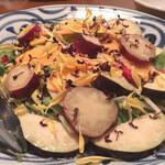 酒の魚 和海 - 季節野菜の塩麹サラダ