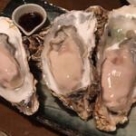 酒の魚 和海 - 生牡蠣