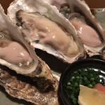 酒の魚 和海 - 2回目の生牡蠣