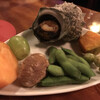 粥茶屋 写楽 - 料理写真:お通し的な先付