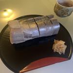 138671148 - 外観も美しい真鯖の姿寿司✨
