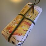 138671182 - 木版画の掛け紙は、紅葉バージョン✨