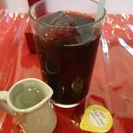 五修堂 - 食後のアイスコーヒー