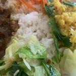 kare-raisudhiran - 付け合わせの野菜