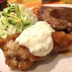 キッチンABC - チキン南蛮+タルタルソースは最強タッグ