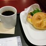 カフェ・ベローチェ - モーニングBセット420円税込