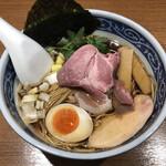 138679386 - 黒醤油煮干しそば(750円)