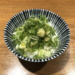 138679387 - 九条ねぎ飯(200円)