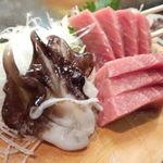 かわなみ鮨 - 生烏貝、大トロ