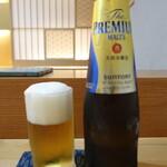 鮨処 あさの川 - 小瓶ビール:?円