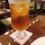文明堂茶館 ル・カフェ - アイスティ(レモン)