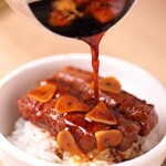 シャトーブリアン芯 - ブリ肉ご飯