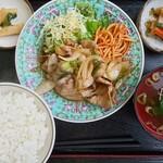 お食事処 大吉 - 料理写真:焼肉定食(並盛)