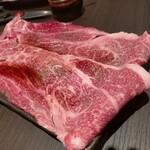 焼肉 サラン - 特選ロースの焼きしゃぶ(780円)