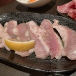 焼肉 サラン - トントロ焼き(580円)