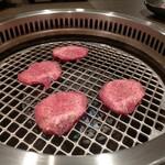 焼肉 サラン - タン塩(900円)