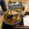 亀楽屋 - 料理写真:とり天特製カレーうどん♡1350円