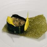 138696569 - 昆布森産牡蠣 セロリのタルタル レロリのチュイル