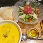 138704770 - スープとサラダランチ