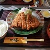 かつ善 - 料理写真:ロースカツ定食(中)(税別1,280円)