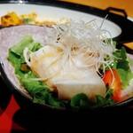 和食処 きくすい - 白ゆりポークの冷しゃぶサラダ