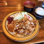 ファントム - 生姜焼きライス(税込900円)