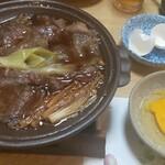 栄寿司 - すき焼き