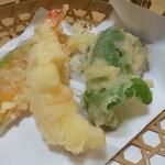 栄寿司 - 天ぷら