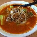錦福香 - 料理写真:牛肉ラーメン辛口