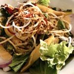 138723449 - 三浦野菜たっぷりコブサラダ                       たくさんの種類の新鮮な野菜を楽しめました♪