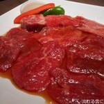 kyuushuuwagyuuyakinikuringo - 切り落とし焼肉