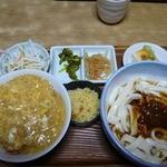 13873917 - みそころうどん+ミニカツ丼セット