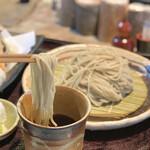 手打ちそばと朝宮茶の店 黒田園 - お蕎麦