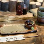 手打ちそばと朝宮茶の店 黒田園 - 蕎麦刺し¥510