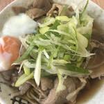 南天 - 肉そば(アップ1)