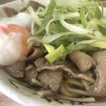 南天 - 肉そば(アップ2)