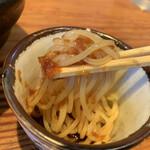 らーめん芝浜 - ツルツルのコシの強い麺