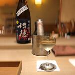 祇園 にしかわ - 招徳、美しいオールドバカラと共に!