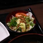 鮨隆 - サラダ