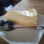 ちゃちゃ カフェ - チーズケーキです。