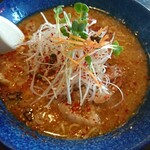 橙ヤ - 料理写真:ホルモンらーめん(橙みそ)(1000円)
