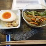 そば舎 あお - 料理写真:前菜2種