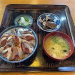 香海 - 料理写真:香海@銚子 いわし鉄火丼 大盛