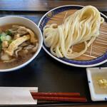 手打うどん 寿庵 - 肉汁うどん 1,100円