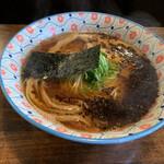 自家製麺カミカゼ - 醤油焦がしネギラーメン¥800